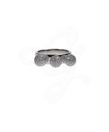 Three Sisters Diamond Ring