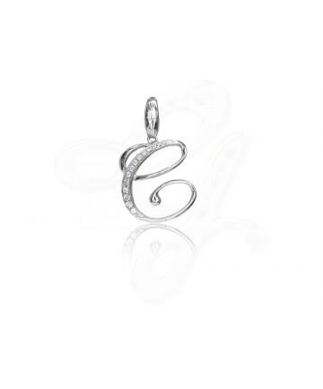 Diamond C Pendant / Charm