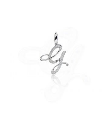 Diamond G Pendant / Charm