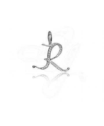 Diamond R Pendant / Charm