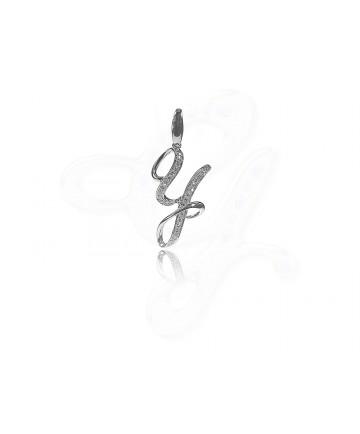 Diamond Y Pendant / Charm