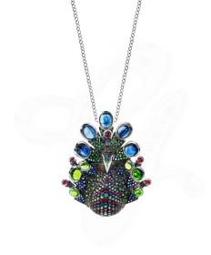 Alluring Peacock Brooch/Pendant