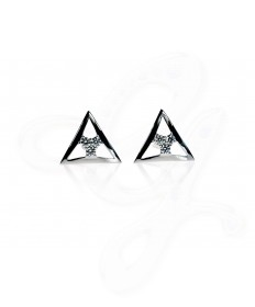 Bermuda Triangle Diamond Cuff Links