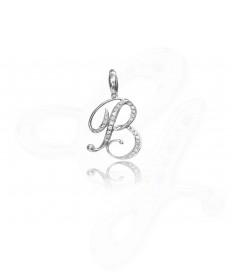 Diamond B Pendant / Charm
