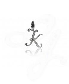 Diamond K Pendant / Charm